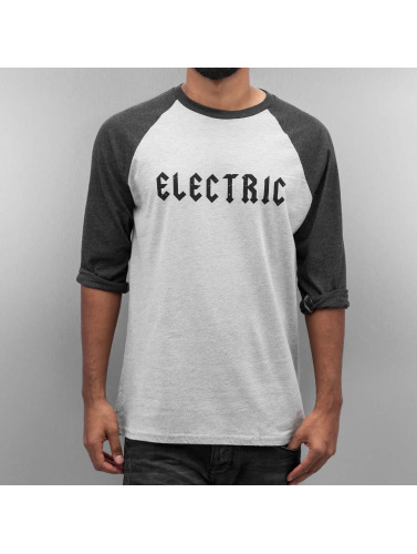Electric Hombres Camiseta de manga larga HESSIAN 3/4 in gris
