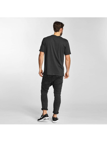 Electric Hombres Camiseta CUT SNAKE in negro
