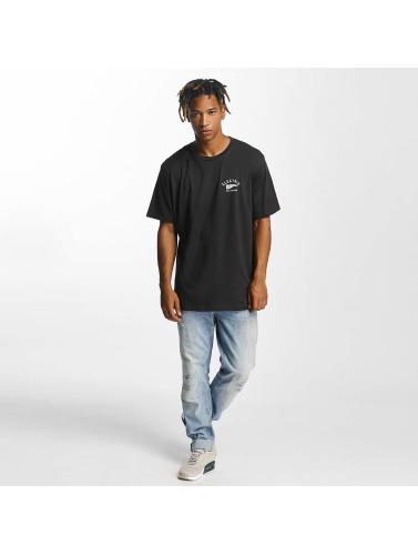 Electric Hombres Camiseta Mascot in negro