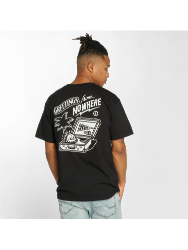 negro Electric in Postcard Hombres Camiseta 1wnqgw