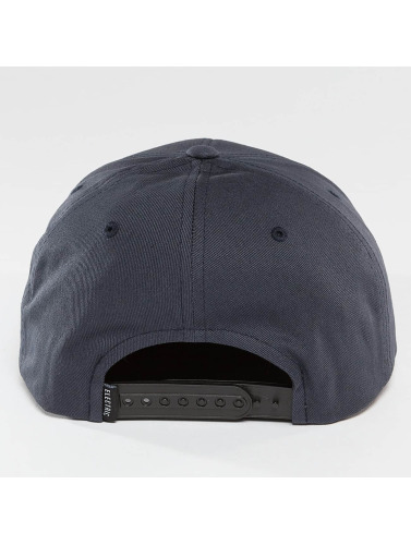 Electric Snapback Cap Rubber Stamp in blau