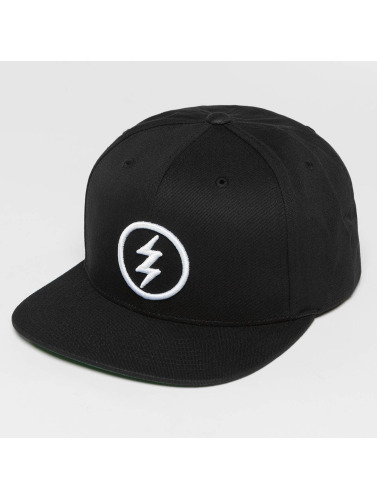 Electric Snapback Cap Volt in schwarz