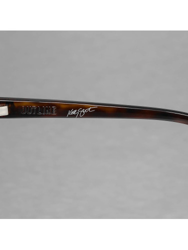 Electric Sonnenbrille OUTLINE in braun
