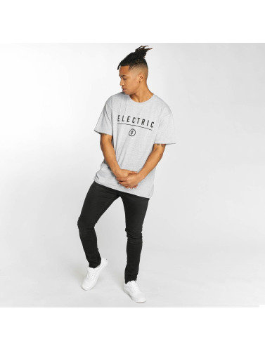 Electric Herren T-Shirt CORP IDENDITY in grau