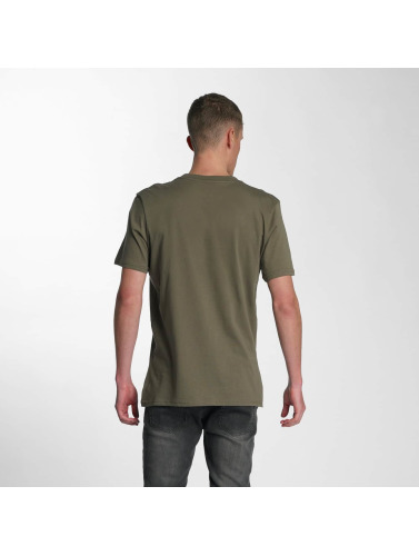 Electric Herren T-Shirt Script in olive