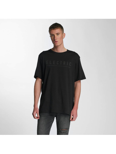 Electric Herren T-Shirt Script in schwarz