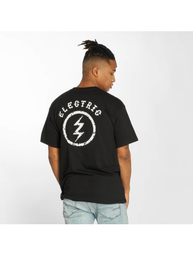 Electric Herren T-Shirt CIRCLE BOLT in schwarz