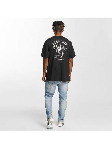 Electric Herren T-Shirt Mascot in schwarz