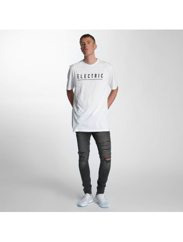 Electric Herren T-Shirt Script in weiß