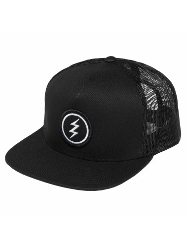 Electric Trucker Cap Volt Patch in schwarz