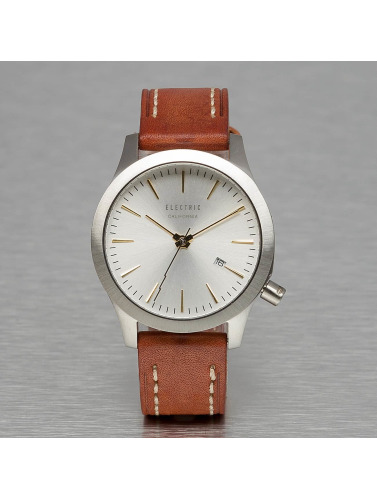 Electric Uhr FW03 Leather in braun