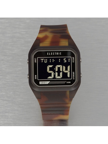 Electric Uhr ED01 PU in braun