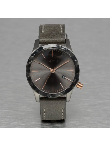 Electric Uhr FW03 Leather in grau