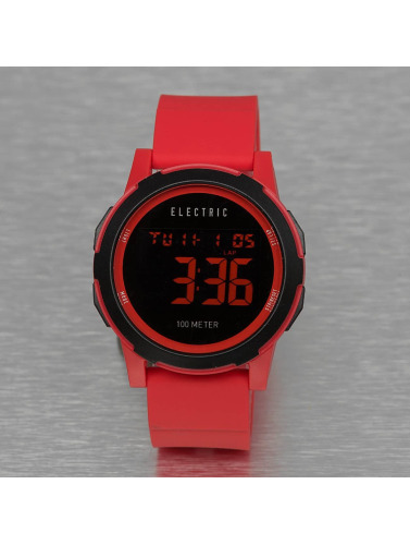 Electric Uhr PRIME in rot