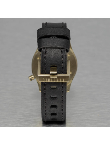 Electric Uhr FW03 Leather in schwarz