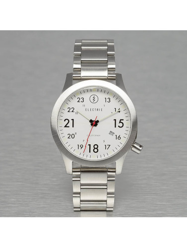 Electric Uhr FW01 Stainless Steel in silberfarben