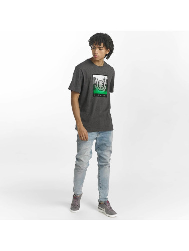 Element Hombres Camiseta Refleksjoner I Gris kule shopping utforske billig pris BbYhn