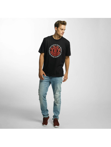Element Hombres Camiseta Seal in negro