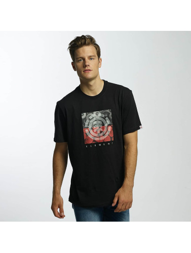 Element Hombres Camiseta Log Jam in negro