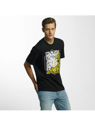 Element Hombres Camiseta Tilt in negro