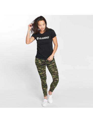 Element Mujeres Camiseta Logo in negro