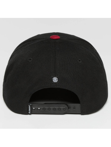 Element Snapback Cap Trekker in schwarz