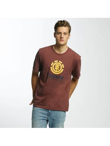 Element Herren T-Shirt Vertical in rot