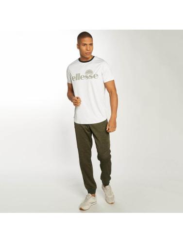 Ellesse Hombres Camiseta Anelio in blanco