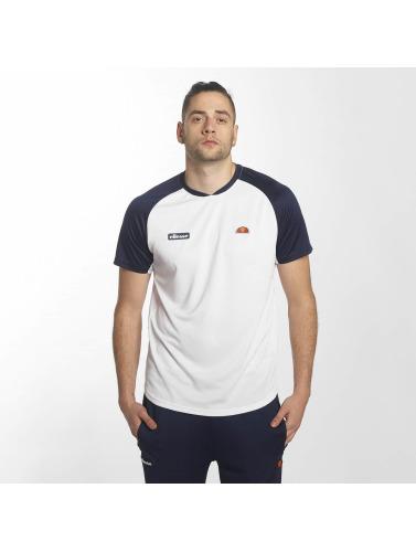 Ellesse Hombres Camiseta Harrier in blanco