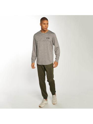 Ellesse Hombres Camiseta de manga larga Airoldi in gris