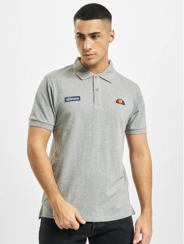 Ellesse Hombres Camiseta polo Montura Polo in gris
