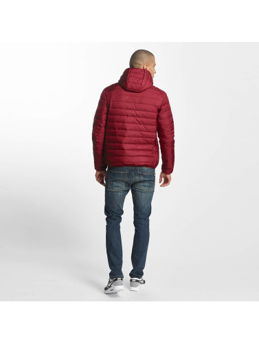 Ellesse Hombres Chaquetas acolchadas Lombardy Padded in rojo
