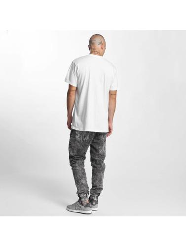 Etnies Hombres Camiseta Corp Box in blanco