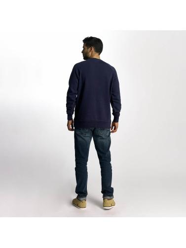 Etnies Hombres Jersey Blasted Fleece in azul