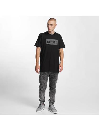 Etnies Herren T-Shirt Corp Box in schwarz