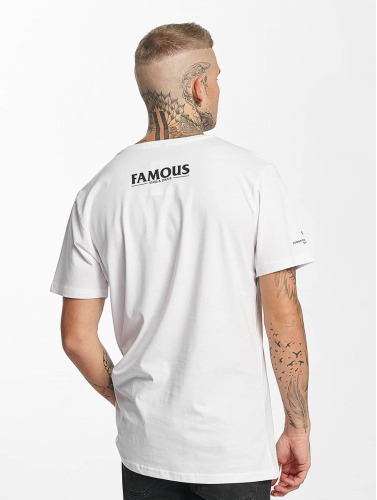 Famous Stars and Straps Herren T-Shirt Drums Drums Drums in weiß