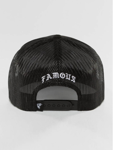 Famous Stars and Straps Trucker Cap Live Fast Die Fun in schwarz
