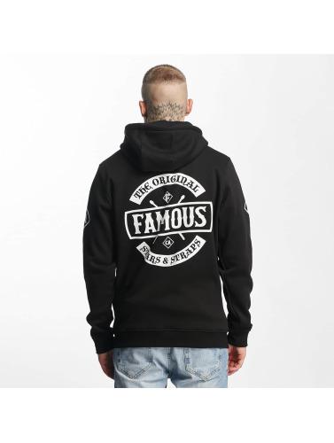 Famous Stars and Straps Herren Zip Hoodie Chaos in schwarz