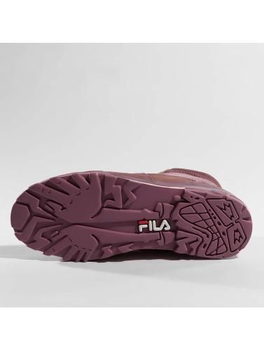 FILA Mujeres Boots Heritage Grunge Mid in púrpura
