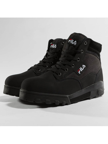 FILA Herren Boots Heritage Grunge L Mid in schwarz