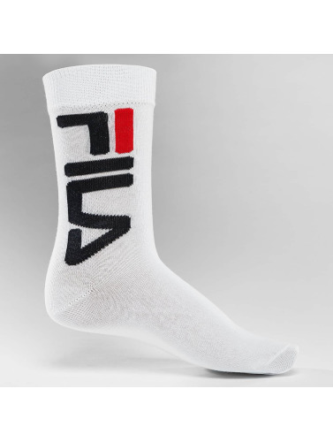 FILA Calcetines Normal 2-Pair in blanco