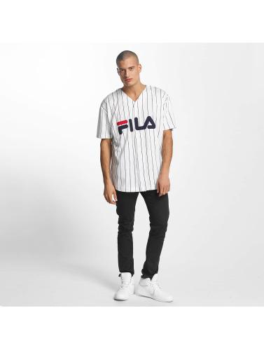FILA Hombres Camisa Urban Line Baseball Dawn in blanco