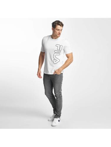 FILA Hombres Camiseta Core Line in blanco