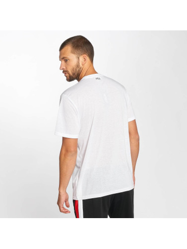FILA Hombres Camiseta Urban Power Line Agile in blanco