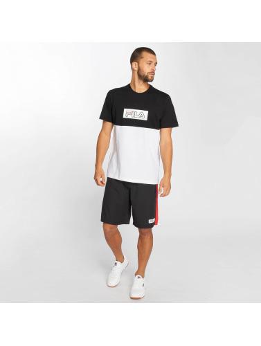 kul Fila Hombres Camiseta Urbane Kraftledning Skjære Blokkert I Blanco klaring priser 2DN4IyA