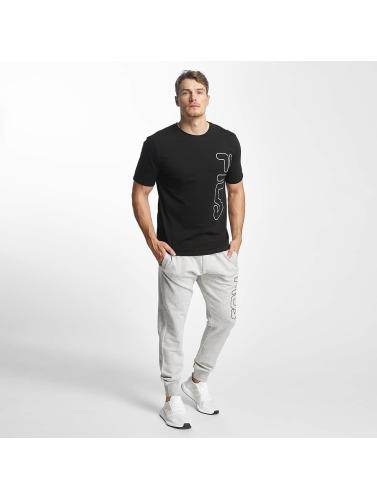 FILA Hombres Camiseta Core Line in negro