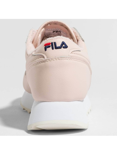 FILA Damen Sneaker Heritage Orbit Zeppa Low in rosa