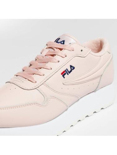 FILA Damen Sneaker Heritage Orbit Zeppa Low in rosa