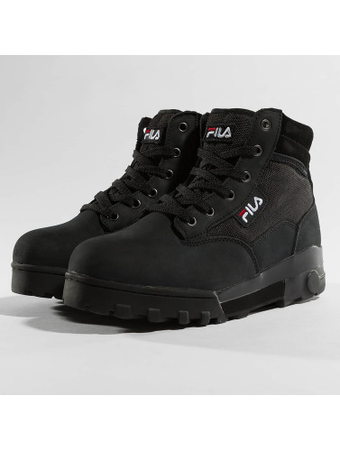 FILA Damen Sneaker Heritage Grunge Mid in schwarz