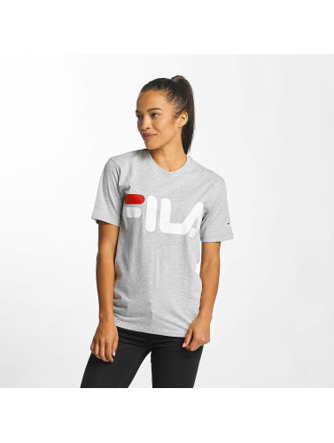 FILA Damen T-Shirt Urban Line Basic Logo in grau